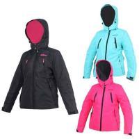 FIRESTAR 女防水舖棉外套-可拆帽外套 連帽外套 保暖外套 防風外套