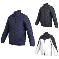 MIZUNO 男防潑水保暖外套-立領外套 鋪棉外套 保溫 美津濃