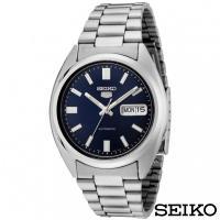 SEIKO精工 紳士雅爵夜光5號自動上鍊機械腕錶 SNXS77J1
