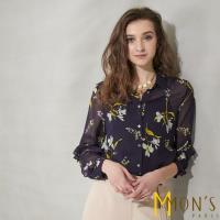 MONS歐系魅力時尚100%蠶絲上衣