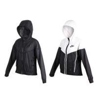 NIKE 女運動外套-連帽外套 慢跑 立領外套