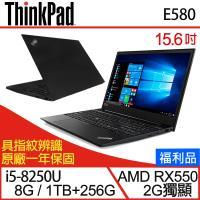 [福利品] Lenovo 聯想 ThinkPad E580 15.6吋i5四核雙碟獨顯商務筆電-一年保 20KSCTO2WW