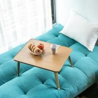 【obis】Dada簡約攜帶式床上電腦桌/摺疊桌/和室桌(免組裝) 二入組