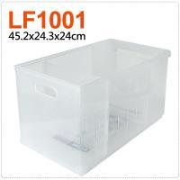 將將好收納 Fine隔板整理盒附輪-22.1L(2入組)