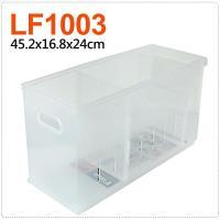 將將好收納 Fine隔板整理盒附輪-14.7L(2入組)