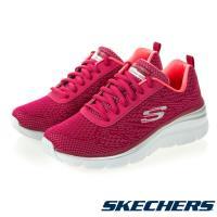 SKECHERS 女款 FASHION FIT 健走鞋12719 RAS / 莓紅