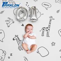 【BabyTiger虎兒寶】PARKLON 韓國帕龍 PURE BUBBLE 泡泡墊系列 - 動物悄悄話 雙面厚4CM地墊