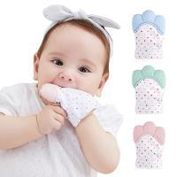嬰兒牙膠手套 寶寶磨牙拳套牙膠-3件入