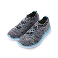 ARNOR 編織束帶襪套慢跑鞋 灰藍 ARWR82308 女鞋 鞋全家福