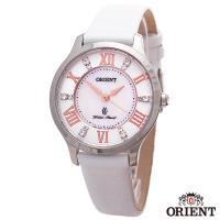ORIENT東方錶 絕美愛琴海藍寶石珍珠母貝石英女錶-貝面x30mm  FUB9B005W0