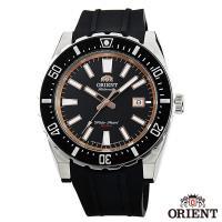 ORIENT東方錶 極限強悍自動上鍊機械運動腕錶-黑x46mm  FAC09003B0