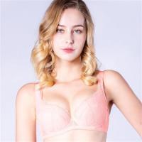 思薇爾 輕戀香系列B-F罩蕾絲包覆內衣(荷花膚)