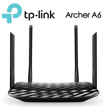 TP-LINK Archer A6 AC1200 無線 MU-MIMO Gigabit 路由器