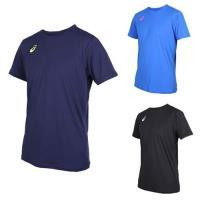 ASICS 男排球短袖T恤-短T 短袖上衣 排球 訓練 亞瑟士