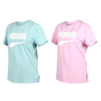 PUMA DOWNTOWN 女流行系列短袖T恤-慢跑 路跑 短T