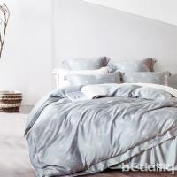 BEDDING-正60支天絲特大雙人八件式兩用被床罩組-蘭黛