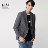 Life8-Formal 磨面混織 西裝外套-11203