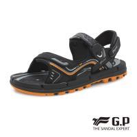 G.P 透氣舒適磁扣兩用涼拖鞋G9254-橘色(SIZE:37-44 共三色)
