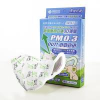 衛風PM0.3奈米3D薄膜口罩-兒童版10入