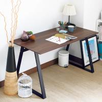 Bernice-雷克斯4尺工業風書桌/工作桌(胡桃色)