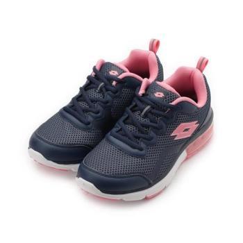 LOTTO FLUX 避震氣墊跑鞋 粉 LT0076 女鞋 鞋全家福