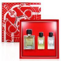 HERMES 愛馬仕 Terre DHermes大地男性淡香水禮盒三件組