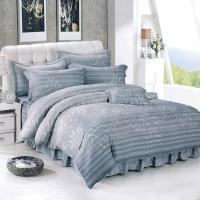 Victoria 天絲3M抗菌吸濕排汗雙人床包兩用被組-爵士