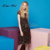 CHENG DA 春夏專櫃精品女裝時尚流行短袖洋裝NO.020167