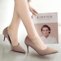 Alice 簡約優雅素面尖頭中跟鞋