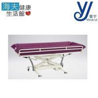 【晉宇 海夫】輕便鋁合金 傾斜 高度可調 安全扶手 洗澡床
