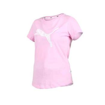 PUMA 女基本系列KA短袖T恤-短T 短袖上衣 慢跑 路跑