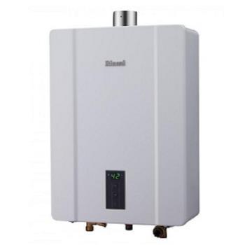 (全省安裝)林內 13公升數位恆溫強制排氣屋內型 熱水器 RUA-C1300WF