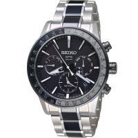 SEIKO ASTRON GPS 雙時區鈦金屬腕錶(SSH011J1)43mm  5X53-0AD0D