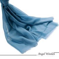 【ANGEL WOOLEN】鑽石紋100%Cashmere羊絨披肩圍巾(純潔心靈)