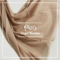 【ANGEL WOOLEN】頂級純色/原色羊絨披肩 圍巾(金蔥)