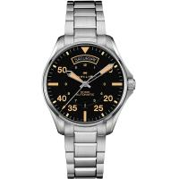 Hamilton 漢米爾頓 KHAKI PILOT 飛行員系列機械錶-42mm H64645131