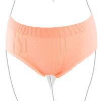 【Audrey】窈窕風範 中高腰三角褲(甜蜜橙)