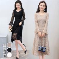 韓國K.W. 韓國蕾絲玩美潮流洋裝