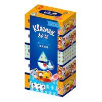 舒潔 迪士尼溫和柔感盒裝面紙140抽x5盒x10串