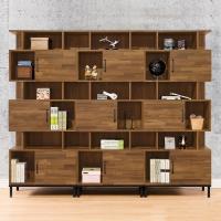 【時尚屋】[MX9]伊萊7.9尺書櫃組MX9-001*3免運費/免組裝/書櫃組