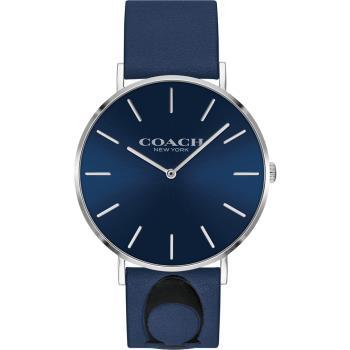 COACH Thompson 文青時尚Logo手錶(藍/41mm) 14602418