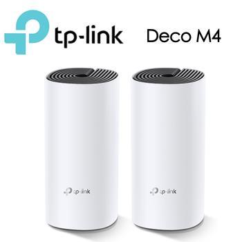 TP-LINK Deco M4 Mesh無線網路wifi分享系統網狀路由器(2入)