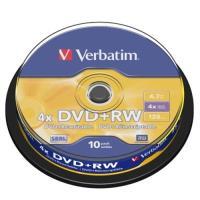 Verbatim 威寶 AZO 4X DVD+RW 4.7GB (30片)