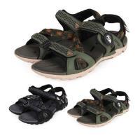 LOTTO 男磁扣排水涼鞋-拖鞋 休閒涼鞋 海邊 海灘 戲水