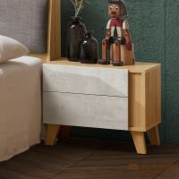 日本直人木業-JOSEF清水模風格54公分床頭櫃