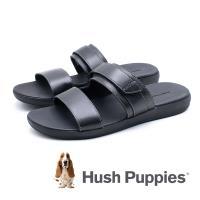 Hush Puppies(男) ZERO G 輕量涼拖鞋-黑(另有咖)