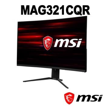 msi微星 Optix MAG321CQR 32型VA曲面2K解析度144Hz電競液晶螢幕