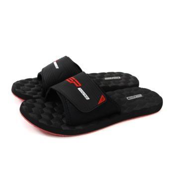 GP (Gold.Pigon) 阿亮代言 拖鞋 戶外 黑色 男鞋 Y9009M-14 no186