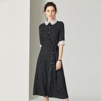 RN-girl-精品OL圓點點短袖洋裝