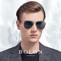 【BOLON 暴龍】知名大牌時尚流行男仕女仕墨鏡太陽眼鏡(經典雷朋飛行框BL8008-偏光系列)